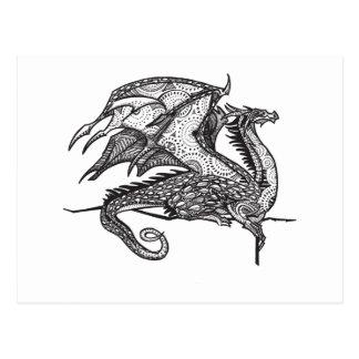 Regal Dragon Postcard