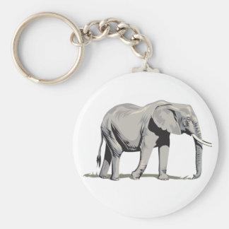 Regal Elephant Keychain