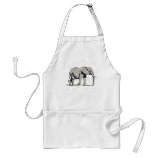 Regal Elephant Standard Apron