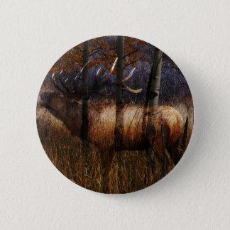 Regal Elk 2 Inch Round Button