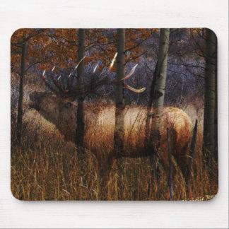 Regal Elk Mouse Pad