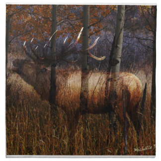 Regal Elk Napkin
