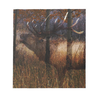 Regal Elk Notepad