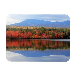 "Regal ""Fall Foliage II"" Mount Chocorua Photo Rectangular Photo Magnet"