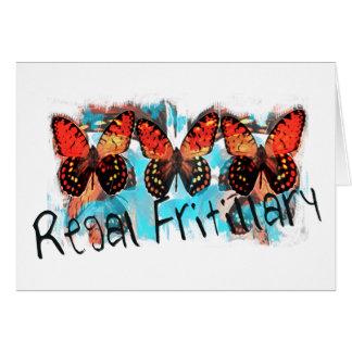 regal fritillary card