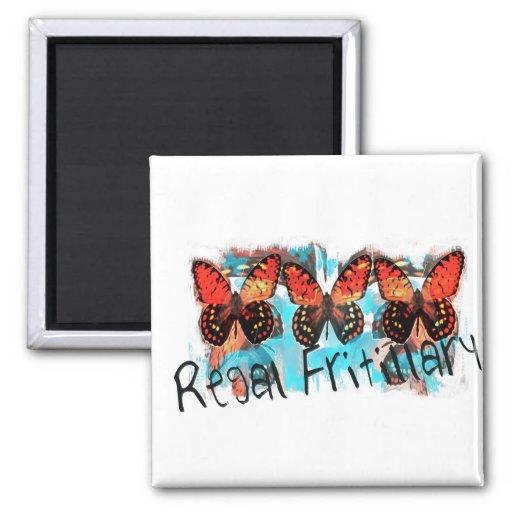 regal fritillary refrigerator magnet