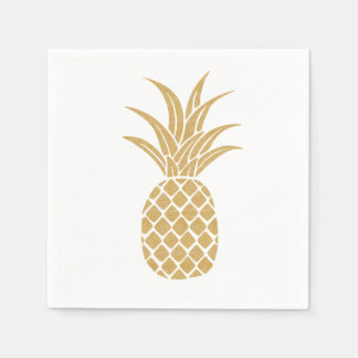 Regal Gold Pineapple Napkins Disposable Napkin