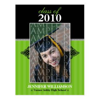 Regal Graduation Announcement Postcard (mint)
