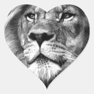 Regal King Heart Sticker