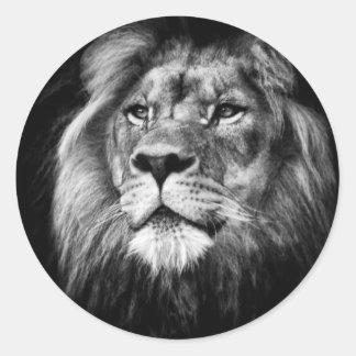 Regal King Round Sticker