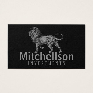 Regal Lion II Business Card