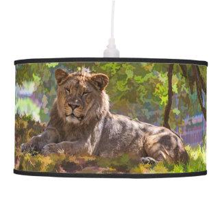 REGAL LION PENDANT LAMP