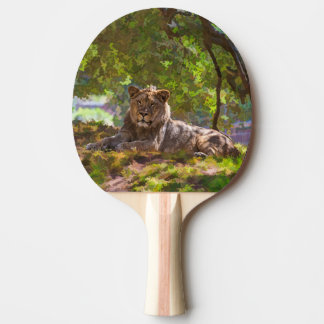 REGAL LION PING PONG PADDLE