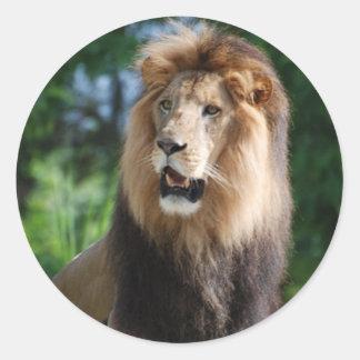 Regal Lion Sticker