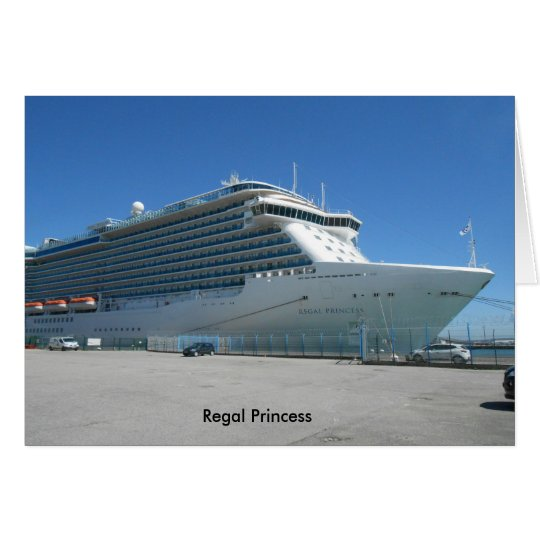 Regal Princess greeting card