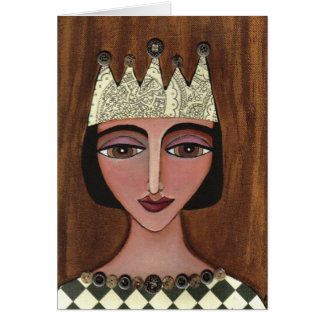 Regal Queen - greeting card (3)