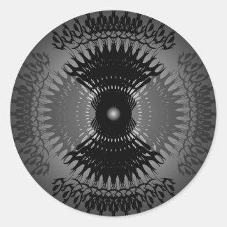Regal Razors: Vector Art: Round Sticker