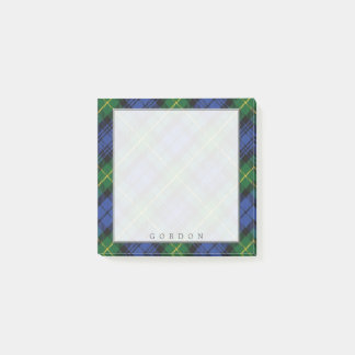 Regal Scottish Clan Gordon Tartan Post-it Notes