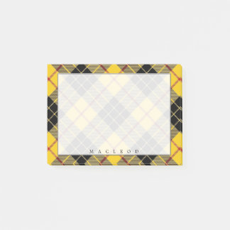 Regal Scottish Clan MacLeod of Lewis Tartan Post-it Notes