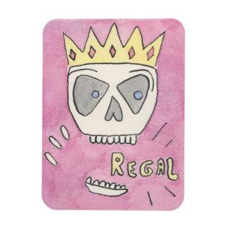 'Regal' Skeleton magnet by Kenneth Joyner