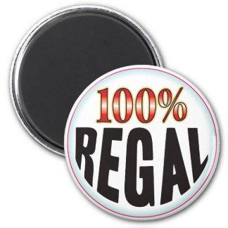 Regal Tag Fridge Magnet