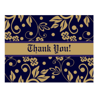 Regal Thank You Postcards
