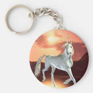 Regal Unicorn Keychain