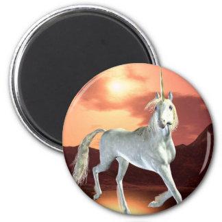 Regal Unicorn Magnet