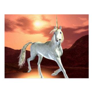 Regal Unicorn Postcard