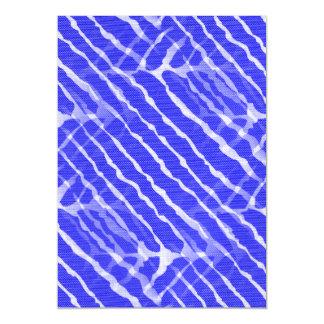 Regard bleu de toile de rayures de tigre