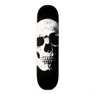 regard d'art de bruit de crâne rétro plateaux de skate