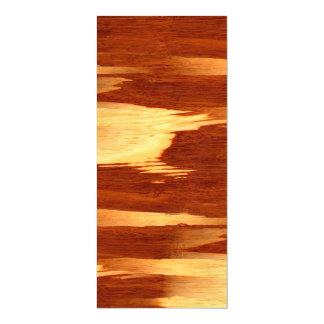 Regard du bois en bambou de grain de rayure de