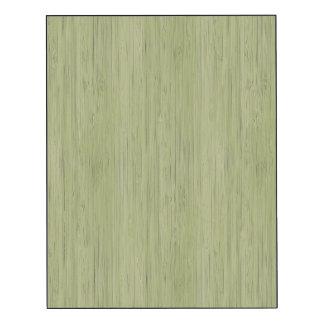Regard du bois en bambou de grain de vert de