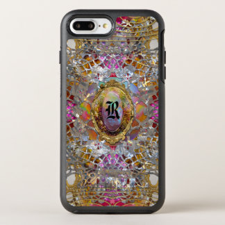 Regardez Cool kaléidoscope Elegant Monogram OtterBox Symmetry iPhone 8 Plus/7 Plus Case