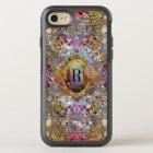 Regardez dans kaléidoscope Elegant Girly Monogram OtterBox Symmetry iPhone 8/7 Case