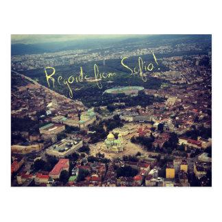 Regards from Sofia Postcard