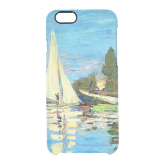 Regatta At Argenteuil, Claude Monet Clear iPhone 6/6S Case