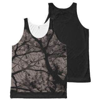 Regatta Camouflage (Grey version) Unissex All-Over-Print Tank Top