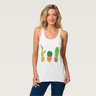 Regatta of Colorful Cactus Tank Top