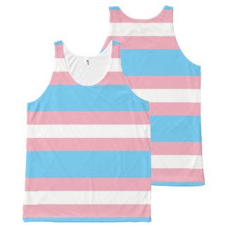 Regatta - Transgênero Transexual DragQueen All-Over-Print Tank Top