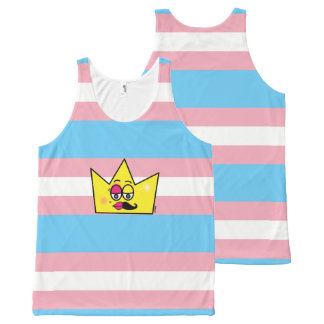Regatta Unissex - Transgênero Transexual DragQueen All-Over-Print Tank Top