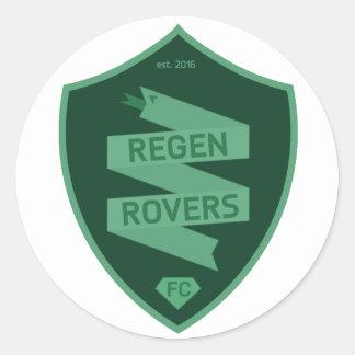 Regen Rovers stickers