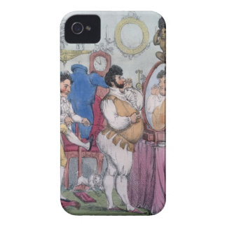 Regency a la Mode, 1812 (coloured etching) Case-Mate iPhone 4 Case