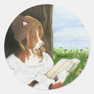 Regency Cat Stickers