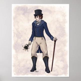 Regency Fashion - Gentleman #1 - 11x14 Art Print