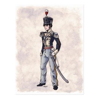 Regency Fashion - Gentleman #4 - Postcard