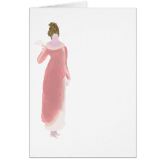 Regency fashion greeting card for all occasions