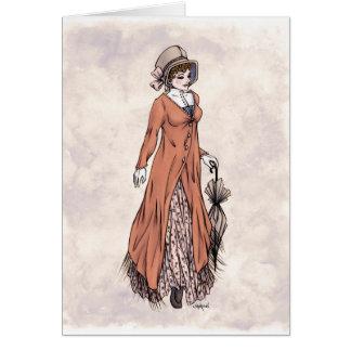 Regency Fashion - Lady 2 - Art Card
