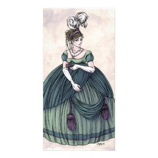 Regency Fashion - Lady #4 - Photocard w/Envelope Personalized Photo Card