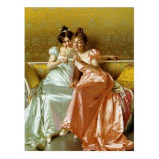 Regency Letter Postcard